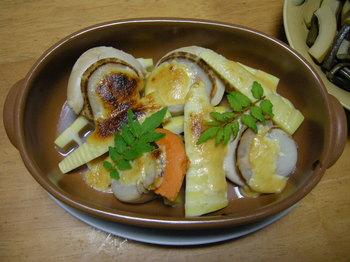 ホタテと孟宗の味噌マヨ焼き.JPG