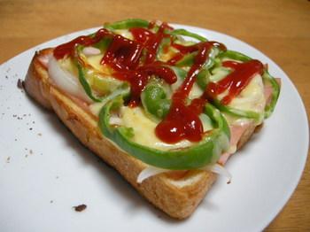 一応ピザトースト.JPG