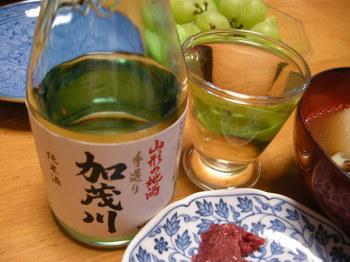 加茂川手造り純米酒.JPG