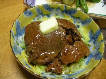 桜肉ねぎバター.JPG