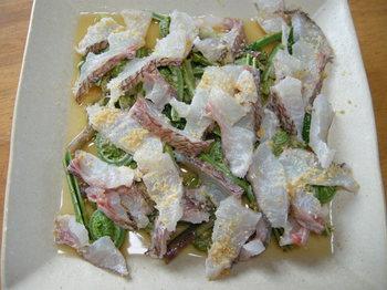 真鯛の山菜カルパッチョ1.JPG