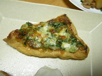 揚げのネギ味噌チーズ焼.JPG