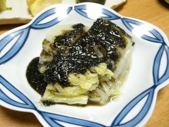 白菜の胡麻和え.JPG